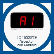Prod Receptor con pantalla